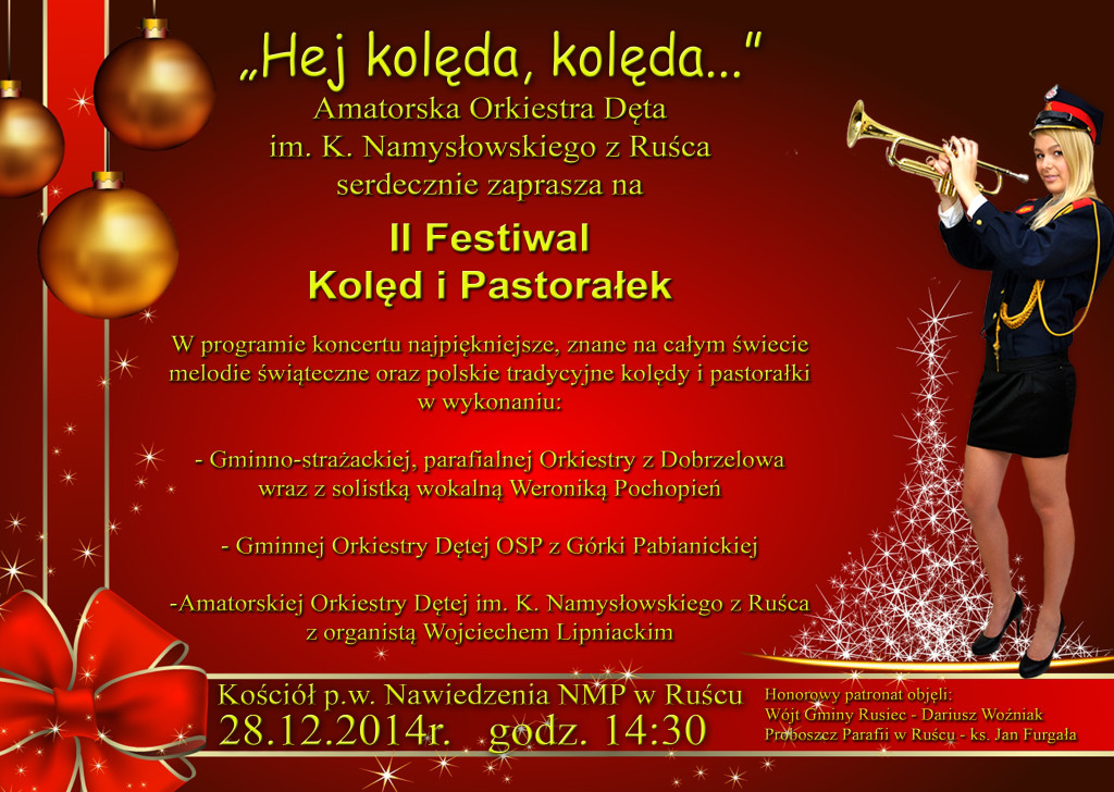 12 szt plakat świątecznyA3