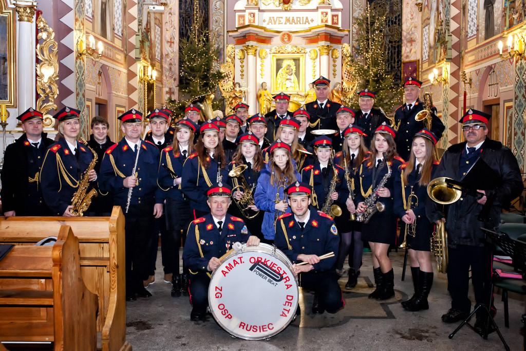 Fot. Malwina Owczarek: Orkiestra Dęta z Ruśca